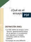 Ppt El Ensayo