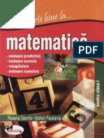 Stiu Foarte Bine La Matematica - Clasa 1