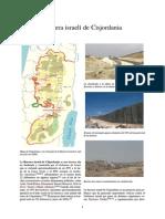 Barrera Israelí de Cisjordania