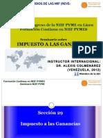 Alexis Colmenarez_Impuesto a Las Ganancias Seccion 29 Alexis Colmenarez