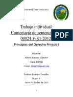 Lachner vs Nissan. Fabiola Ramírez g. b45626 (Prin. Del de Privado)