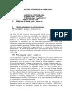 Preparatorio de Derecho Internacional