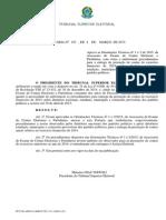 TSE Portaria 107 04 Marco 2015