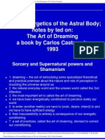 Carlos Castaneda - The Energetics of the Astral Body