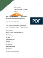 ATPS -Contabilidade Tributaria