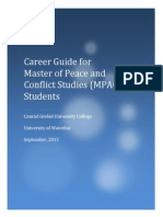 career guide for master of peace and conflict studies  mpacs  students - conrad grebel university