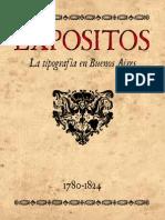 Expositos - La Tipografia en Buenos Aires