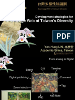 Development Strategies for Knowledge Web of Taiwan's Diversity
