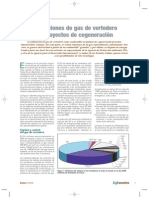 Gas de Vertederos y Cogeneración