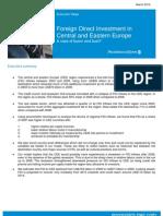 PWC FDI in CEE Eport - March 10