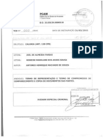 DELEGADO JOEL DE ALMEIDA FARIAS E RONEISE MARKILANE ACUSAM PROFESSOR