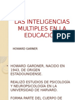 Las Inteligencias Multiples en La Educación