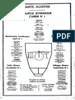 Solféo Rítmico (Cuaderno 1)