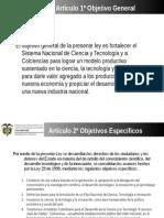 Ley 1286 2009 Colciencias