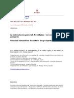 PRACTICAS DE ESTIMULACION PRENATAL