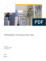 SAP Sybase IQ 16 Hardware Sizing Guide