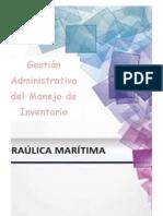 Gestión Administrativa del Manejo de Inventario