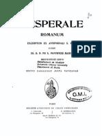 Vesperale Romanum (1913)
