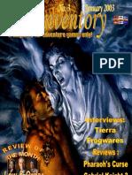 Inventory 3 - January 2003