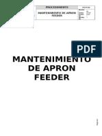 PETS Mantenimiento de Apron Feeder.doc