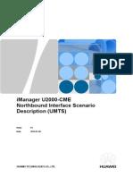 IManager U2000-CME Northbound Interface Scenario Description (UMTS)