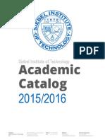 Siebel Institute Academic Catalog