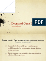 biomaterials and drug delivery - kinetics