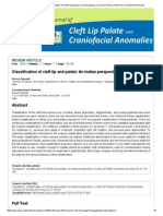 Classification of CLP