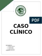 Caso Clínico sindrome geriatrico