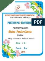 Practicas Preprofesionales II-Administracion.