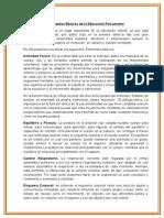 Elementos Basicos de la Educacion Psicomotriz