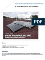 Electrical-Engineering-portal.com-Calculation Example of Small Photovoltaic PV Residential StandAlone System