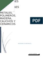 Propiedades y Aplicaciones de Los Metales