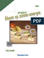 project bloem op zonne-energie techniek is fun tif
