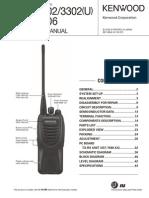 Manual Kenwood TK-3302