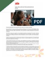 FLOR AYALA PROPONE CREACIÓN DE PROCURADURÍA DE PROTECCIÓN AL MENOR