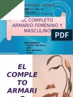 Armario femenino y masculino