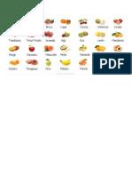 Freutas y Verduras