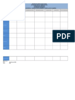 Matriz de Clasificacion de La Empresa