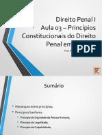 Aula 03 - Princípios Constitucionais em Espécie