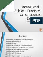 Aula 04 - Princípios Constitucionais Derivados