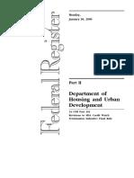 Builders Certification of Plans Specs Site HUD-92541