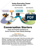 eBook Conversation Starters for Senior Executive Teams