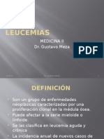 Leucemias (Medicina II)