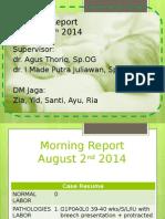 MR 4 Agustus 2014