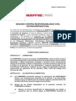 Condicionado Responsabilidad Civil Extracontractual