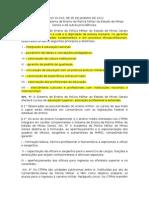 LEI 20010 12 Sistema de Ensino Da PM