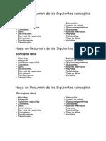 Resumen de Los Siguientes Conceptos - Instroduccion a La Prog.