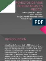 Vias Ferroviarias Mexico