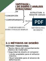 metodos de Diseño y Analisis Estructural